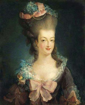 The French queen Marie Antoinette