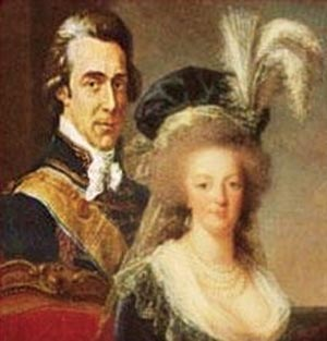 Count Axel Fersen and Marie Antoinette