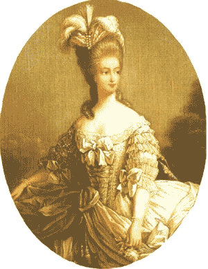 Marie Antoinette, ancient pictures