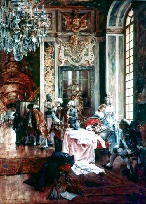 Versailles, the first anxieties