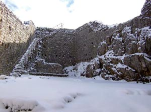 The ruins of the last Montsegur III