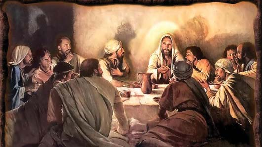 The prophet Joshua's last supper ...