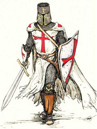 A Templar-Warrior by Angelfire</I>