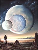 Земля долгое время имела три луны
