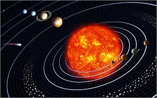 Упорядоченная Солнечная ситема