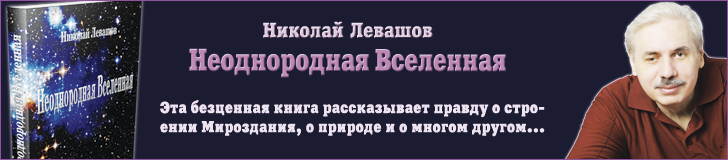 Неоднородная Вселенная - Николай Левашов